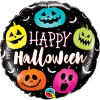 Happy Halloween Pumpkin Balloon 18 Inch