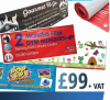 4 X Pvc Banners Offer 6x2ft