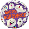 Ghost Happy Halloween Balloon 18 Inch