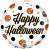 Halloween Dots Balloon 18 Inch