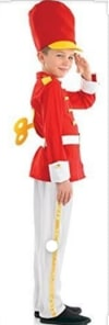 Toy Soldier (top With Detachable Key, Trousers, Belt & Hat) - Xlarge Size