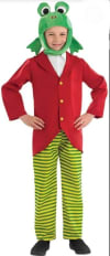 Mr Frog (jacket With Shirt Insert, Trousers & Head Piece)
