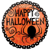 Happy Halloween Spider Balloon 18 Inch