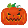 Scary Pumpkin Balloon 18 Inch