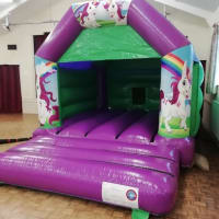 Unicorn A Frame Bouncy Castle