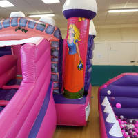 Princess Bouncy Castle/slide