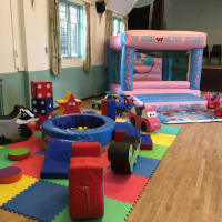Pink Toddler Castle And Soft Play