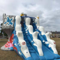 Castle In The Sky And Slide