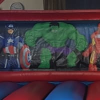 Superheroes Bouncy Castle