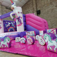 17 Piece Unicorn Soft Play Set
