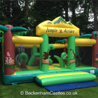 Jungle Activity Castle 23ftx15ft