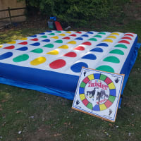 Inflatable Twister + Giant Connect 4 + Giant Jenga