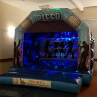 Kids Disco Bouncy Castle