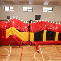 Red Lizard Obstacle Course