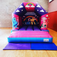 Fantasy Unicorn Bouncy Castle (brand New)
