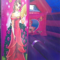 11x15ft Princess Bouncy Castle