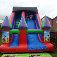 Extra Large Bouncy Slide