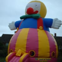 29ft X 25ft X 30ft Giant Clown Dome Castle