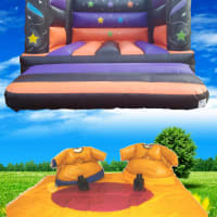 Package 4 - Any Adult Castle With Adult Sumo Suits