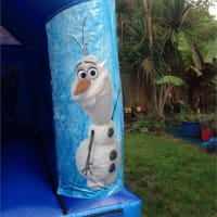 11x15ft Frozen Bouncy Castle