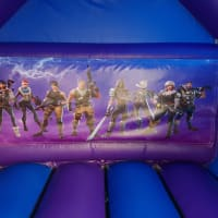 Fortnite Bouncy Castle