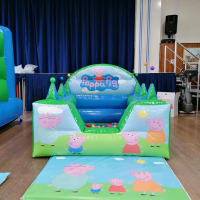 Pig Soft Play With Ball Pit