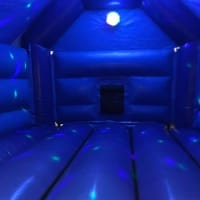 Dinasaur Disco Bouncy Castle Hire