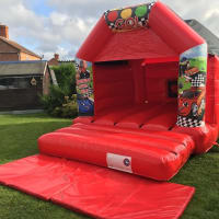 Cars Bouncy Castle Package