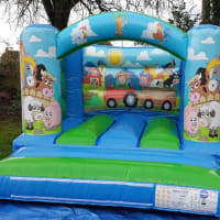 Farmyard Toddlers Bouncy Castle Hire