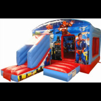 Superhero Bounce And Slide