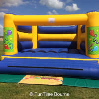 Large Balloons Bouncy Castle