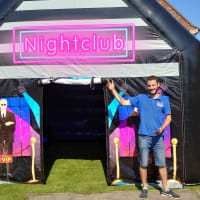 Inflatable Nightclub Hire Bronze Package