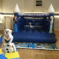 Frozen Fort Bouncy Castle
