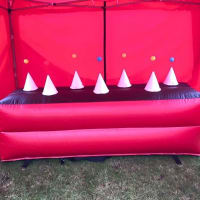 Inflatable Nerf Gun Shooting Range