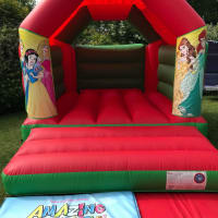 11ft X 15ft Princess Castle - Red & Green