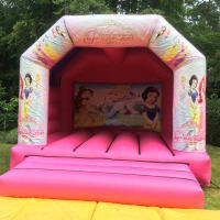 Disney Princess Bouncy Castle Hire Surrey