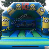 New Minions 12.5ft X 15.5ft Bouncy Castle