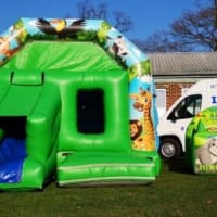 12ft X 16ft Jungle Themed Disco Castle