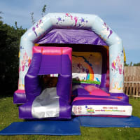 Unicorn Bounce N Slide