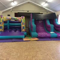 Bouncy Castle And Inflatable Slide Pack