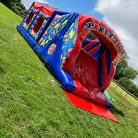 35ft Party Time Assault Course Fun Run
