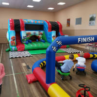 Paw Patrol Play Centre And Didi Car Track - Indoors Only