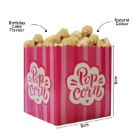Birthday Cake Flavoured Popcorn