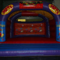 20ft X 20ft Gladiator Duel & 20ft X 20ft Boxing Ring & 8ftx 8ft Matsadult Sumo Suits & 18ft X 18ft Party Party Castle