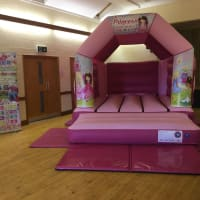 Pink Princess Bouncy Castle