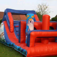 10f X 9ft Ball Pond & 12ft X 15ft Toy Story & 30ft Under The Sea Assault Course & Childrens 8ft X 8ft Sumo Suits