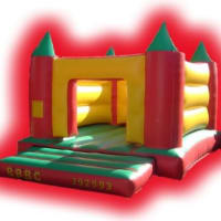 Small Turret Bouncy Castle