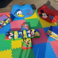 10 Piece Disney Soft Play With 2 Rockers