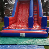 12ft Platform Super Slide