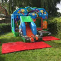 Dinosaur Bouncy Castle Package 2